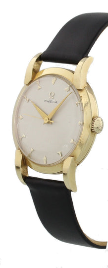 Vintage Omega 14K Yellow Gold Mechanical Watch