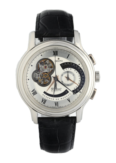 Zenith El Primero Grande Chronomaster XXT Open Retrograde Men's Watch Box Papers