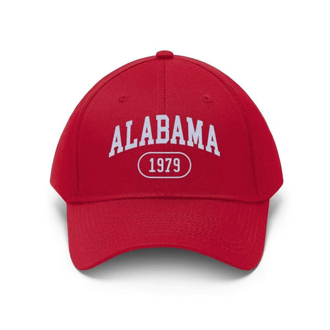 Image of Printify Hats True Red / One size Alabama 1979 | Unisex Twill Hat