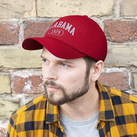 Printify Hats True Red / One size Alabama 1979 | Unisex Twill Hat