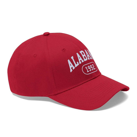 Printify Hats True Red / One size Alabama 1992 | Unisex Twill Hat