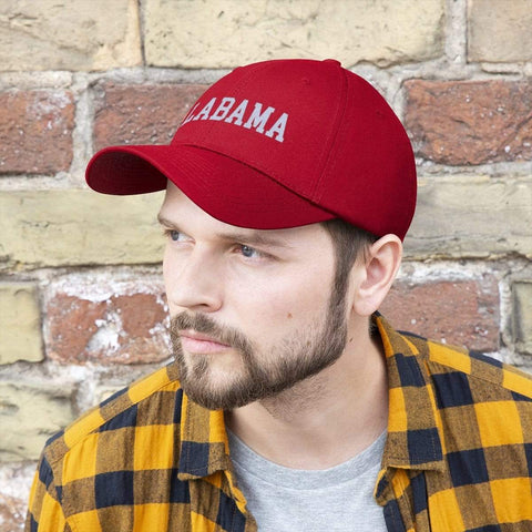 Image of Printify Hats True Red / One size Alabama | Unisex Twill Hat