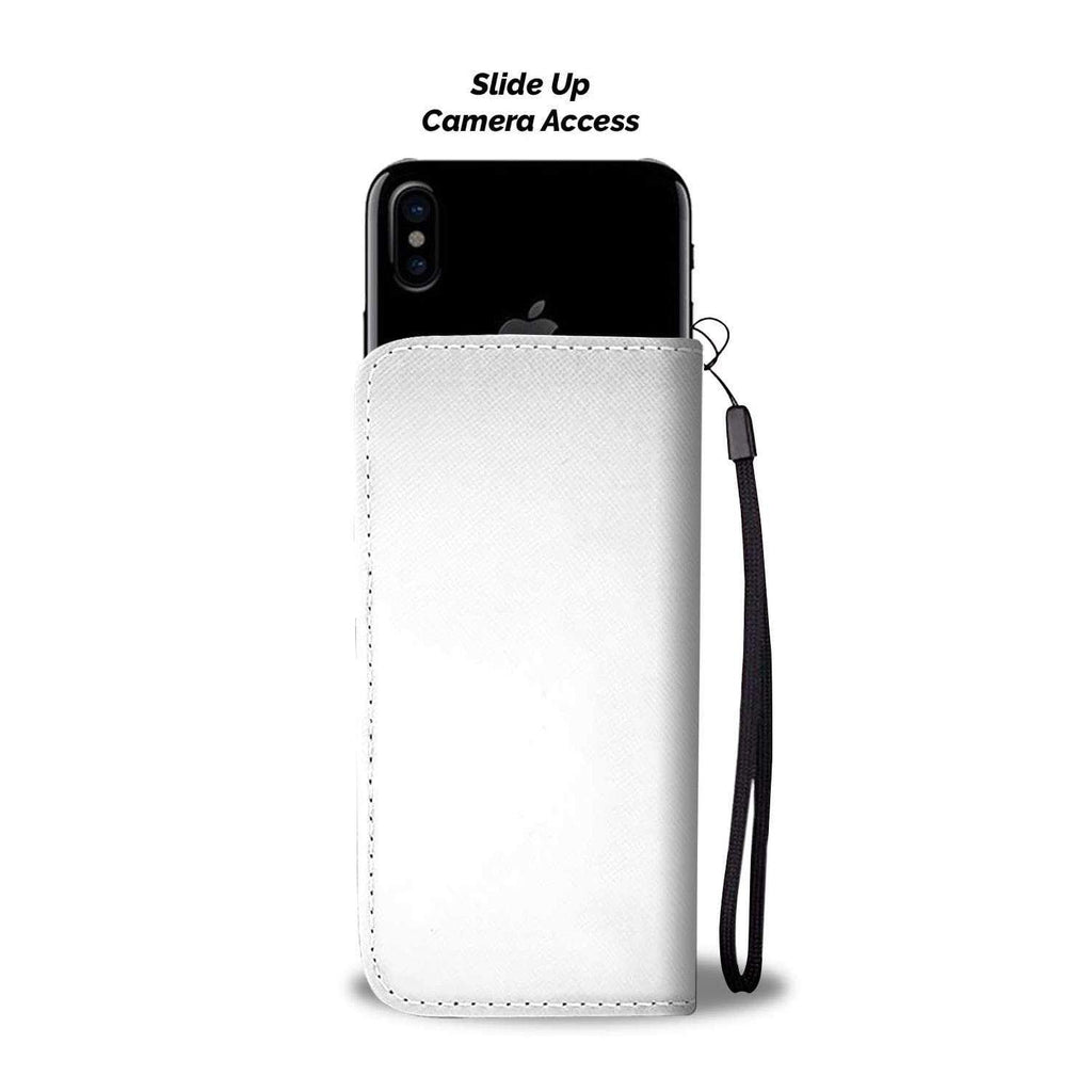 wc-fulfillment Wallet Case iPhone X / Xs Ask My AI | Phone Wallet Case
