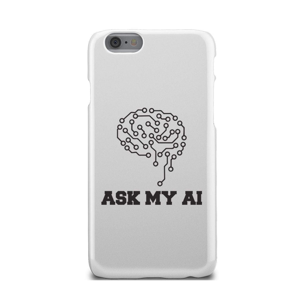 wc-fulfillment Phone Case iPhone 6 Ask My AI | Super Slim Phone Case