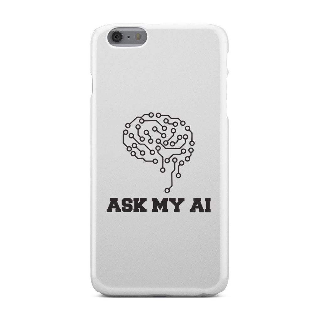 wc-fulfillment Phone Case iPhone 6 Plus Ask My AI | Super Slim Phone Case