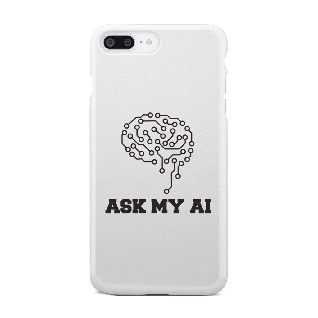 wc-fulfillment Phone Case iPhone 7 Plus Ask My AI | Super Slim Phone Case