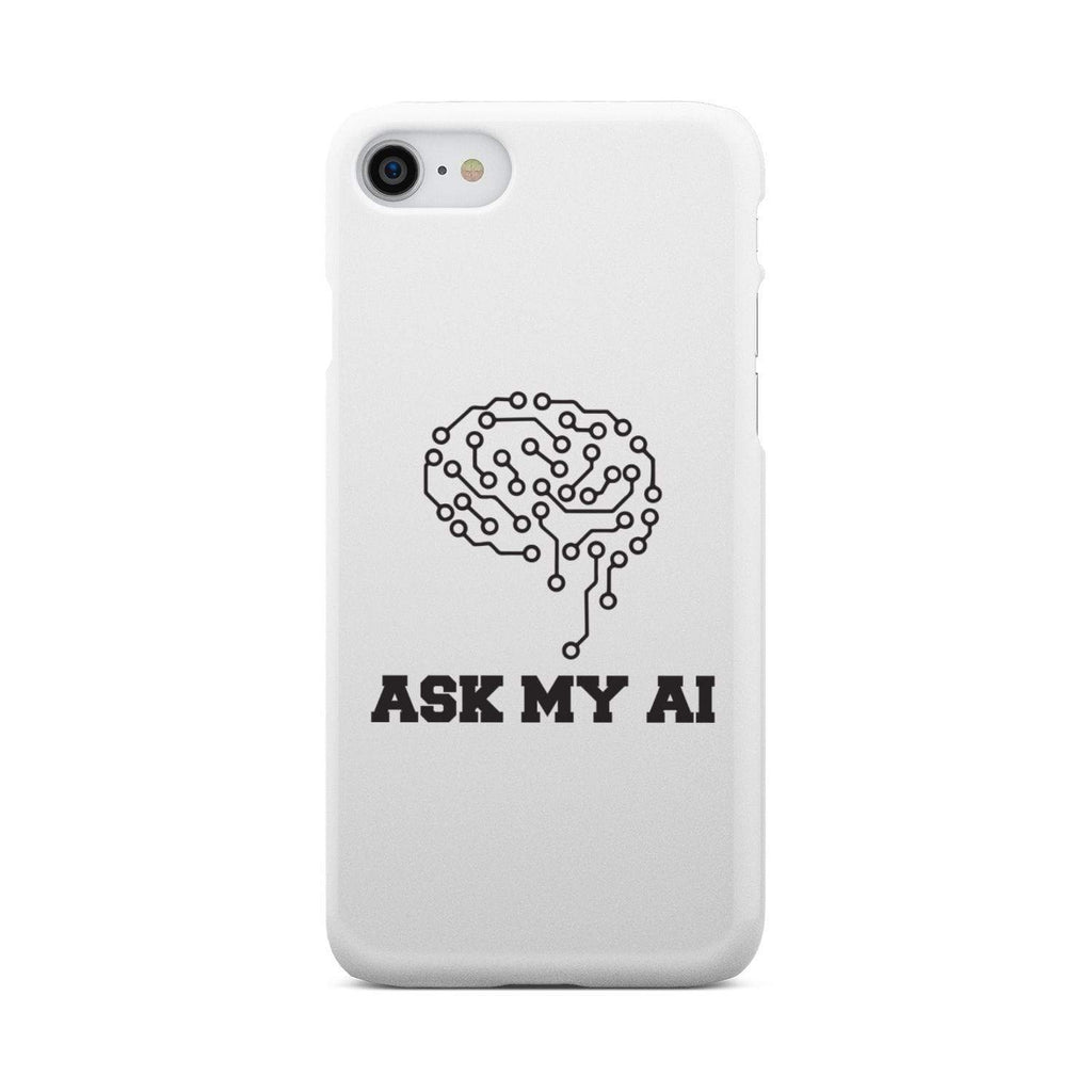 wc-fulfillment Phone Case iPhone 8 Ask My AI | Super Slim Phone Case