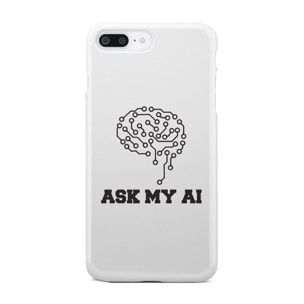 wc-fulfillment Phone Case iPhone 8 Plus Ask My AI | Super Slim Phone Case