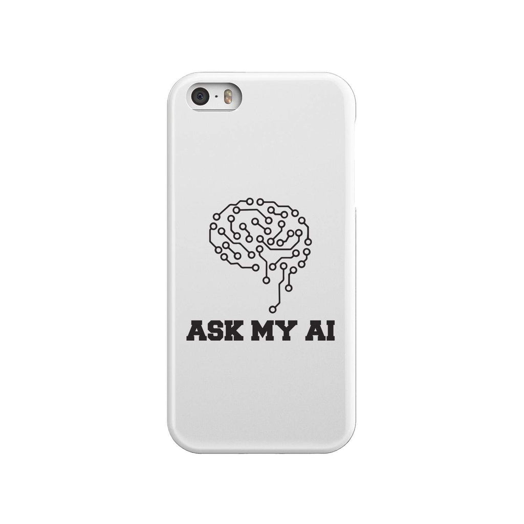 wc-fulfillment Phone Case iPhone SE Ask My AI | Super Slim Phone Case
