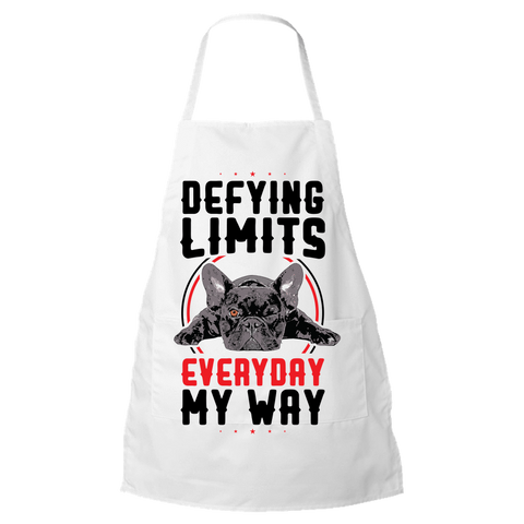 PrintTech Apron DEFYING LIMITS, EVERYDAY, MY WAY | Apron