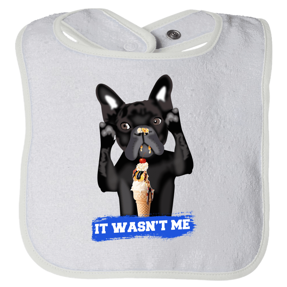 PrintTech Bibs OS / White FRENCH BULLDOG | Bibs