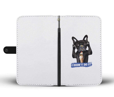 wc-fulfillment Wallet Case iPhone X / Xs FRENCH BULLDOG | Phone Wallet Case