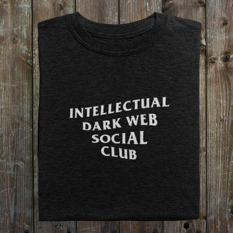 wc-fulfillment Unisex T-Shirt M / Black Intellectual Dark Web Social Club | Black Unisex T-Shirt