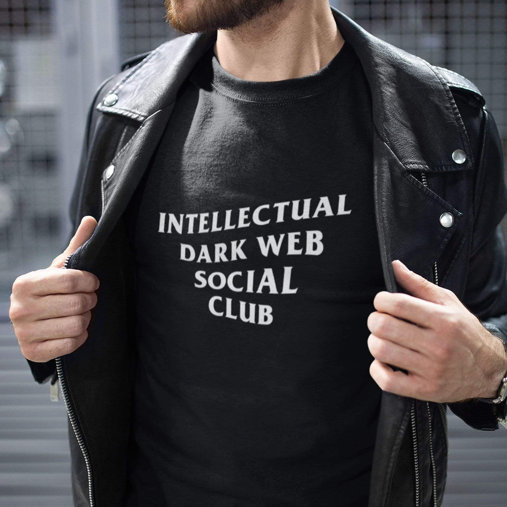 wc-fulfillment Unisex T-Shirt S / Black Intellectual Dark Web Social Club | Black Unisex T-Shirt