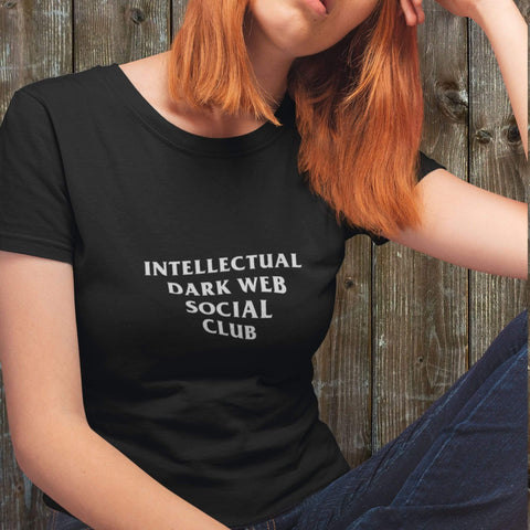 Image of wc-fulfillment Unisex T-Shirt S / Black Intellectual Dark Web Social Club | Black Unisex T-Shirt