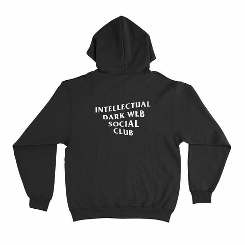 Image of wc-fulfillment Unisex Hoodie S / Black Intellectual Dark Web Social Club | Unisex Hoodie