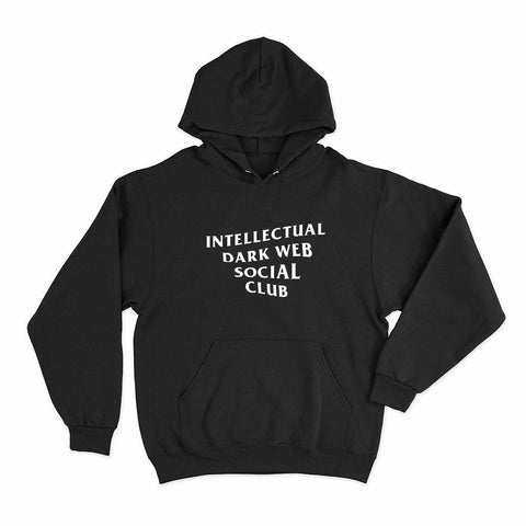 wc-fulfillment Unisex Hoodie S / Black Intellectual Dark Web Social Club | Unisex Hoodie