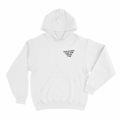 Image of wc-fulfillment Unisex Hoodie S / White Intellectual Dark Web Social Club | Unisex Hoodie