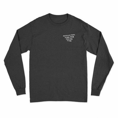 Image of wc-fulfillment Long Sleeve T-Shirt S / Black Intellectual Dark Web Social Club | Unisex Long Sleeve T-Shirt