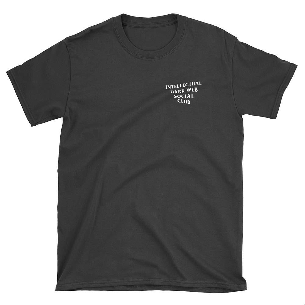 wc-fulfillment Unisex T-Shirt S / Black Intellectual Dark Web Social Club | Unisex T-Shirt