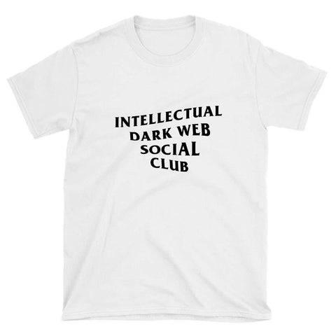 wc-fulfillment Unisex T-Shirt S / White Intellectual Dark Web Social Club | Unisex T-Shirt