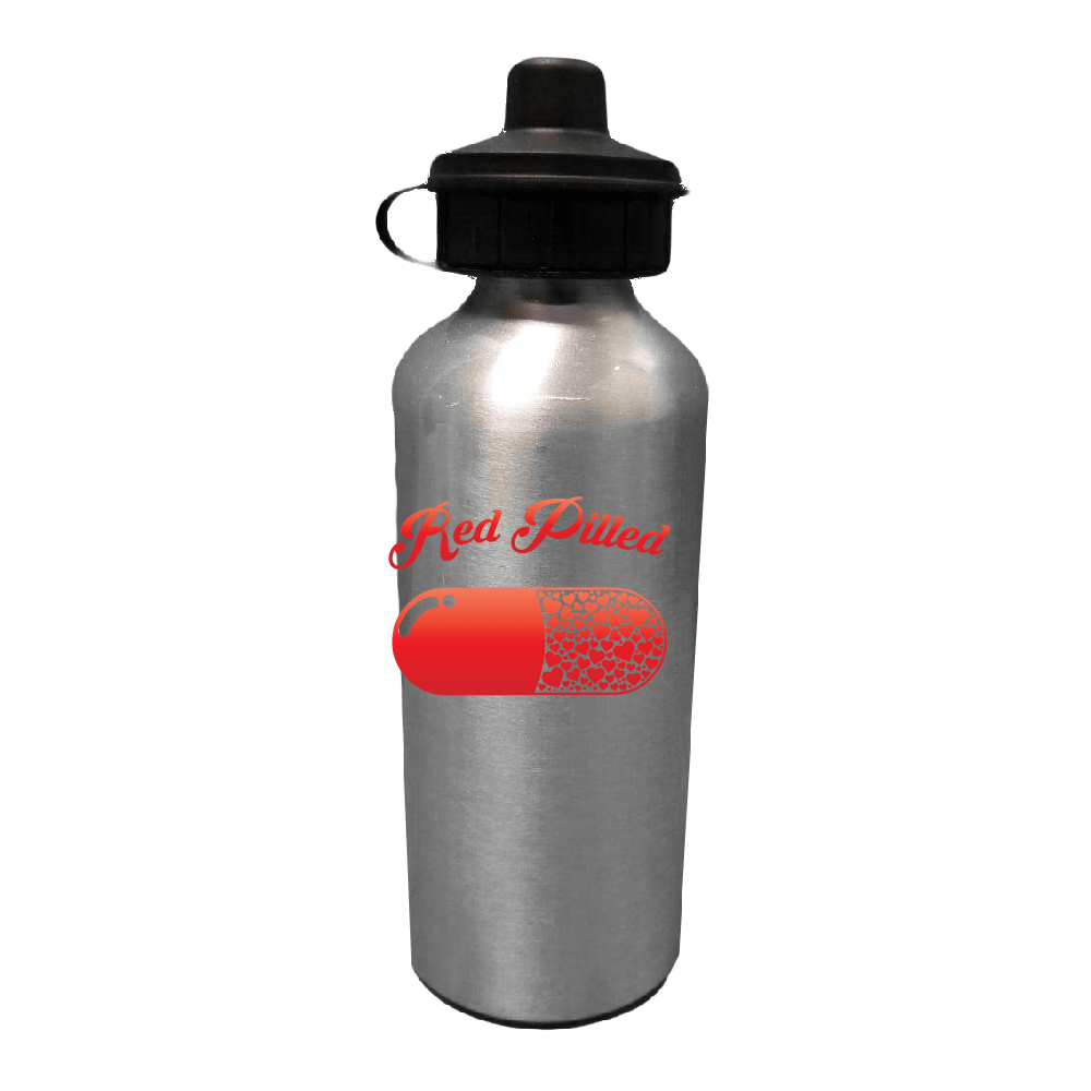 PrintTech Water Bottles Sublimated Only 20oz / Stainless RED PILLED WITH LOVE | Water Bottle