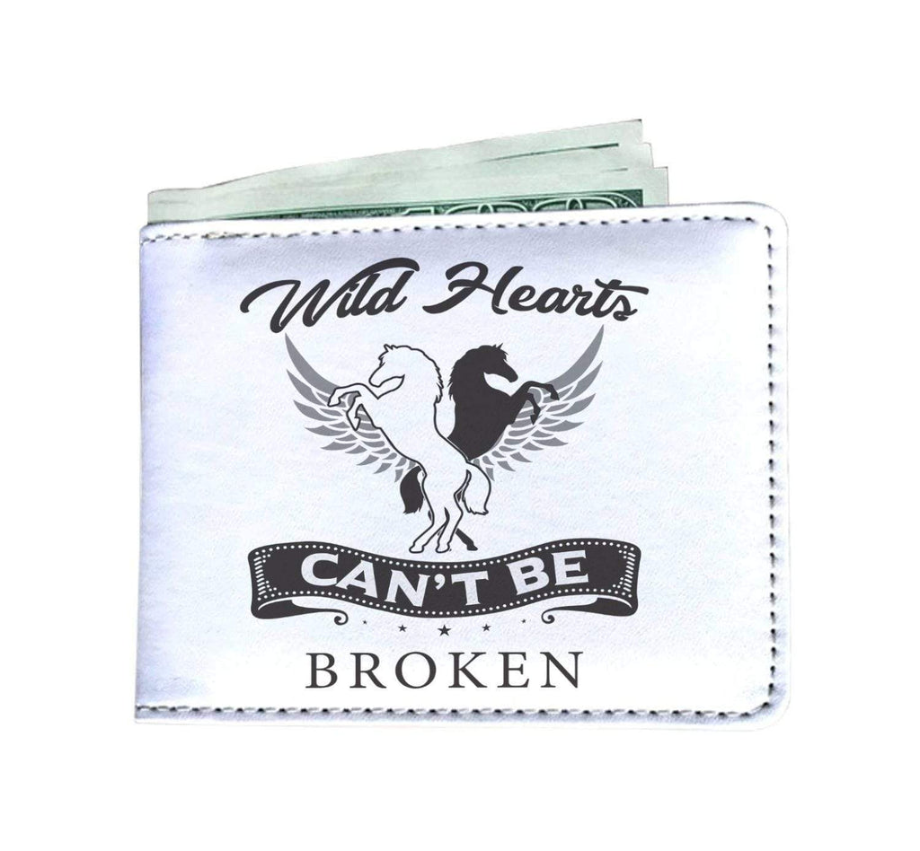 wc-fulfillment Mens Wallet Wild Hearts Can't Be Broken | Mens Wallet