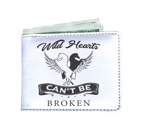 Image of wc-fulfillment Mens Wallet Wild Hearts Can't Be Broken | Mens Wallet