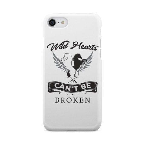 wc-fulfillment Phone Case iPhone 7 Wild Hearts Can't Be Broken - Super Slim Phone Case