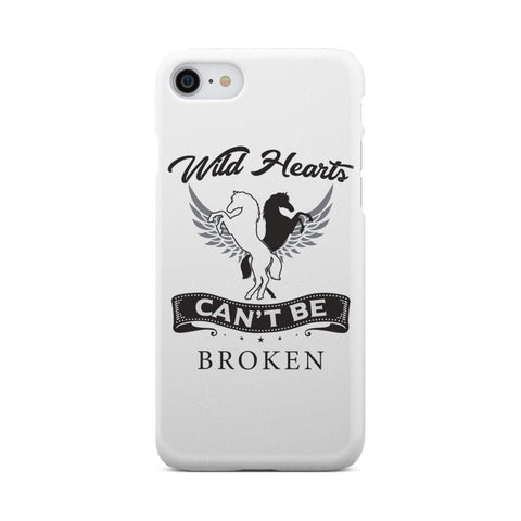 wc-fulfillment Phone Case iPhone 8 Wild Hearts Can't Be Broken - Super Slim Phone Case