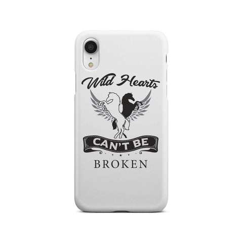 wc-fulfillment Phone Case iPhone Xr Wild Hearts Can't Be Broken - Super Slim Phone Case