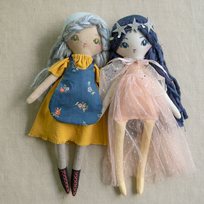 Lindsey Loré Pemberton Collaboration Doll + Print