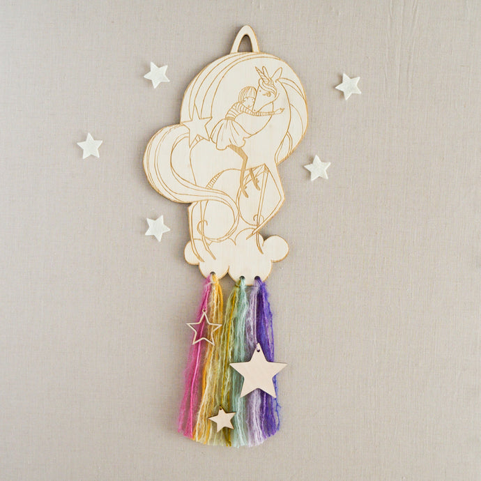 Unicorn Love Wall Hanging