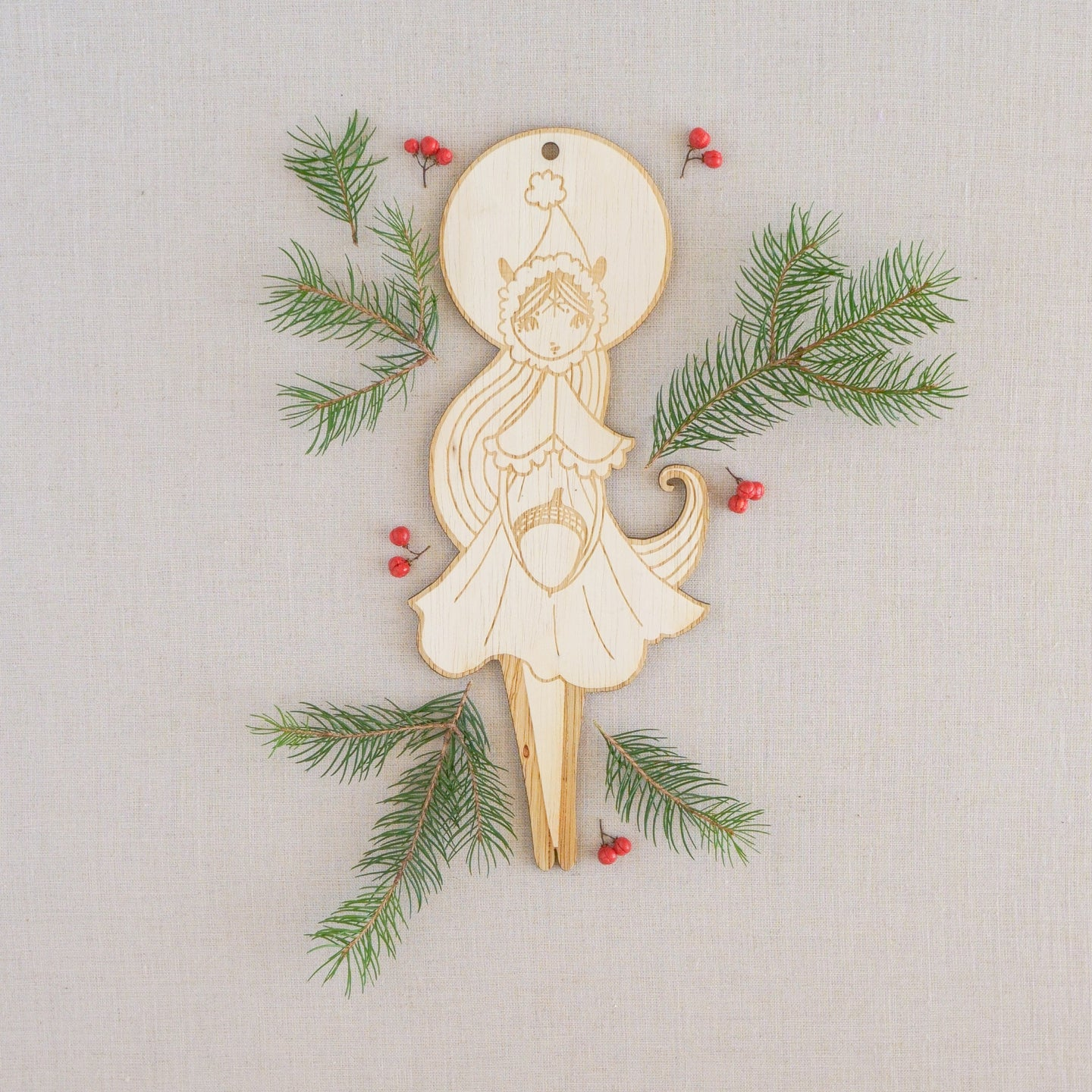 Winter Pixie Wall Hanging
