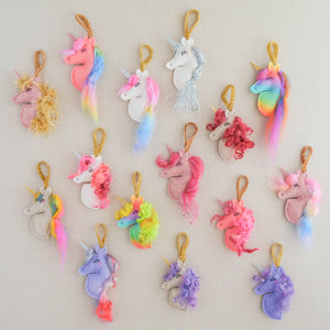 One-of-a-kind Unicorn Ornament!