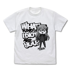 【EVANGELION】What kind of idiot are you? T-Shirt Deform Ver. / WHITE 【COSPA】