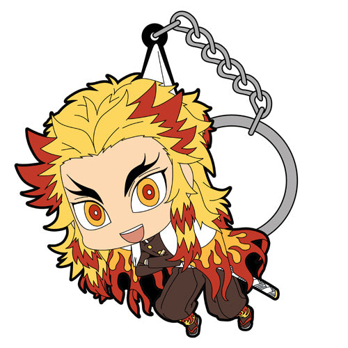 【Demon Slayer: Kimetsu no Yaiba】Kyojuro Rengoku TSUMAMARE Keychain 【COSPA】NEW ITEM