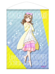 【Love Live! Sunshine!!】Hanamaru Kunikida B2Size Wall Scroll Pajamas Ver. 【COSPA】