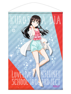 【Love Live! Sunshine!!】Dia Kurosawa B2Size Wall Scroll Pajamas Ver. 【COSPA】
