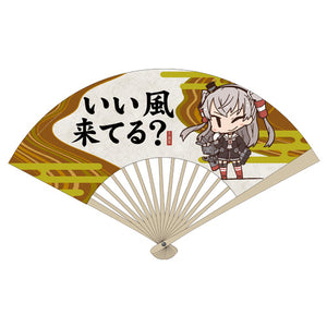 【Kantai Collection -KanColle-】Amatsukaze 「good wind is coming?」 hand fan 【COSPA】