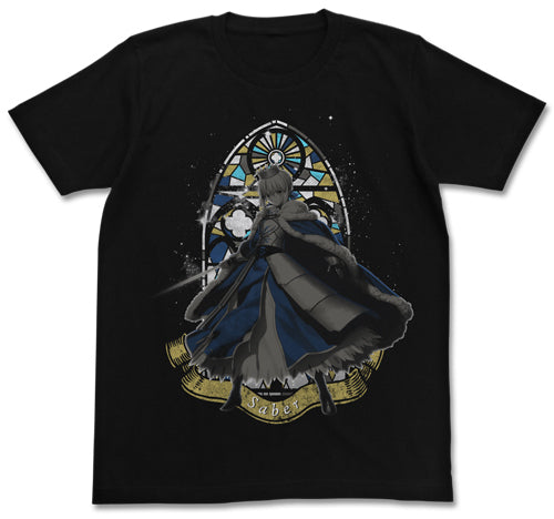 【Fate/Grand Order】Fate/G.O. Altria T-shirts/BLACK 【COSPA】☆☆☆