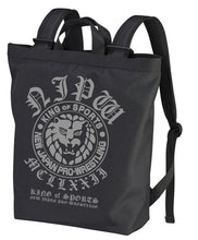 Load image into Gallery viewer, 【New Japan Pro Wrestling】Lion Mark 2way Backpack/Black 【COSPA】