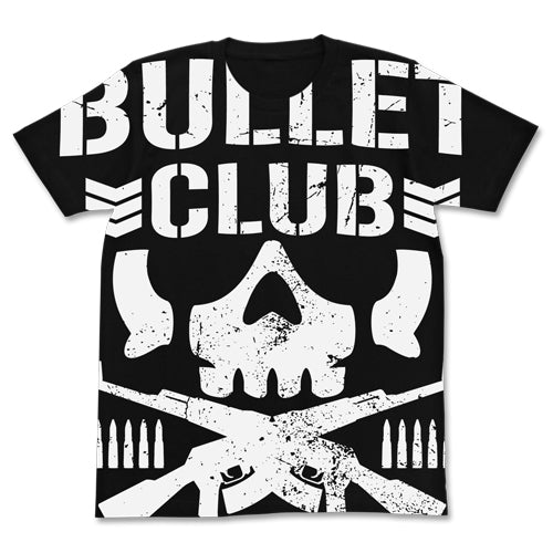 【New Japan Pro Wrestling】BULLET CLUB Allprint T-shirts/Black 【COSPA】