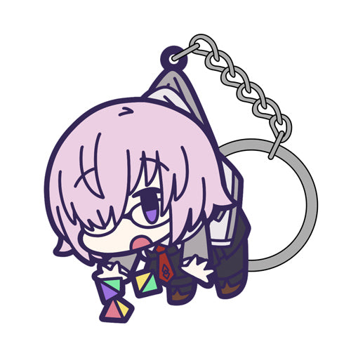 【Fate/Grand Order】Shielder/Mash Kyrielight Casual form Ver. TSUMAMARE Keychain 【COSPA】