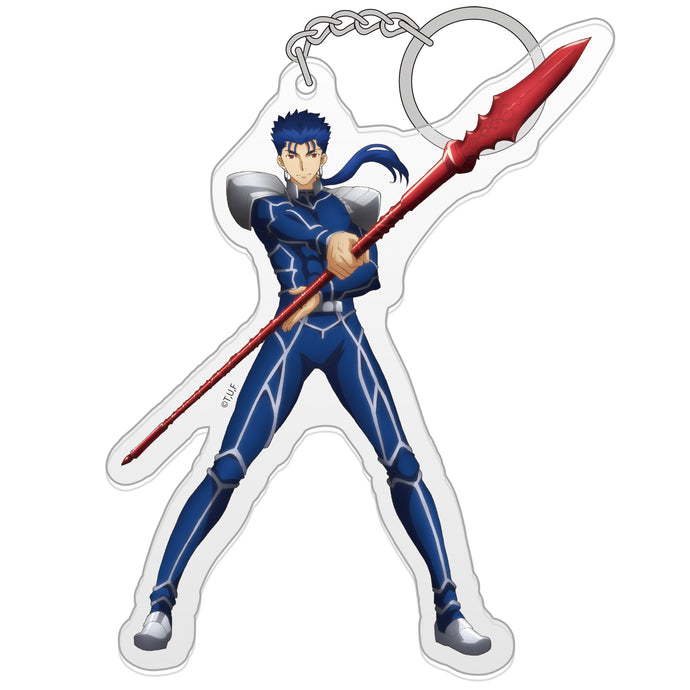 【Fate/stay night [Heaven's Feel]】Acrylic keychain-Lancer 【COSPA】NEW ITEM