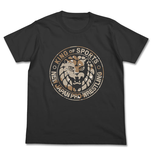 【New Japan Pro Wrestling】Lion Mark Desert Camouflage T-shirts / SUMI 【COSPA】