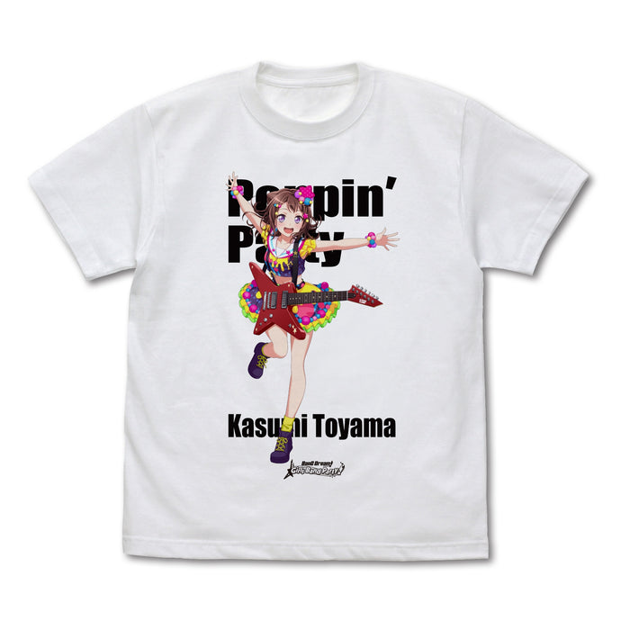 【BanG Dream! Girls Band Party!】Kasumi Toyama Fullcolor T-shirts 【COSPA】NEW ITEM