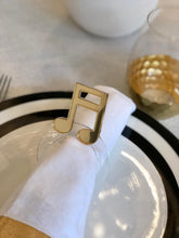 Load image into Gallery viewer, Custom Napkin Rings
