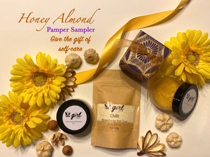 Honey Almond Pamper Sampler (New!)