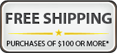 Free Shipping for orders over $50 in the U.S.